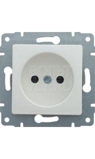 Розетка 1м б/з белый Sedna Schneider SDN2900121