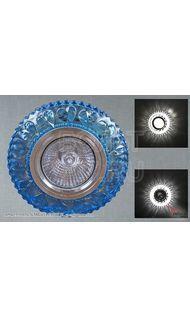 Cветильник точечный 00940-9,0-001 CN MR16+LED3W BL светильник точечный