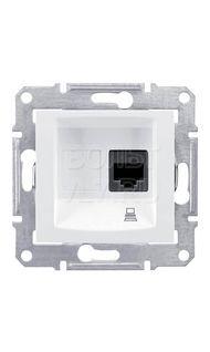 Розетка компьютерная белый Sedna Schneider SDN4700121
