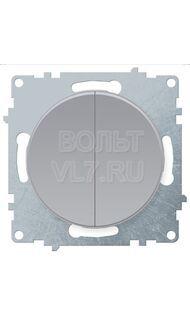 Выкл. 2кл. серый Florence OneKeyElectro 1E31501302