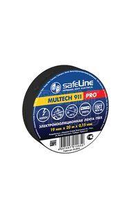 Изолента 19/25 черный Safeline 9372