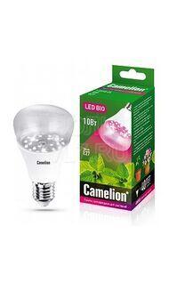 Лампа светодиодная 10Вт E27 Фито Camelion LED10-PL/BIO/E27
