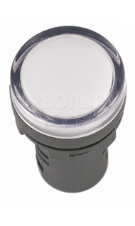 Лампа сигнальная AD-16DS белая 230В TDM SQ0702-0070