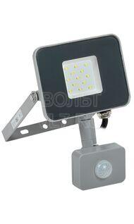 Прожектор СДО-07 10Вт серый с ДД IP44 6500K ИЭК LPDO702-10-K03
