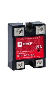 Реле твердотельное однофазное RTP-25-AA PROxima EKF rtp-1-25-aa