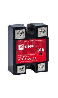 Реле твердотельное однофазное RTP-60-AA PROxima EKF rtp-1-60-aa