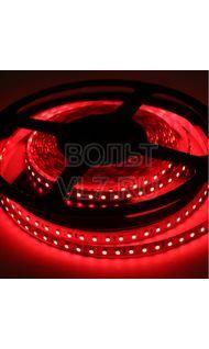 Светодиодная лента красная 4.8 Вт/м 12 В IP67 EKF fls-eco-3528-60-67-5m-r