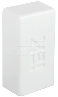 Заглушка КМЗ 20x10 белый ИЭК CKMP10D-Z-020-010-K01