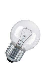 Лампа накаливания (прозрач.шар) E27 40Вт 220В A60