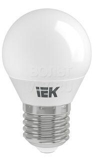 Лампа светодиодная филамент шар 5Вт 230В 4000К E27 ИЭК LLF-G45-5-230-40-E27-CL